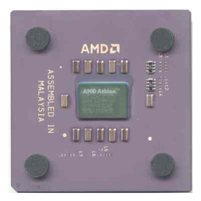 Una Cpu Athlon Thunderbird.